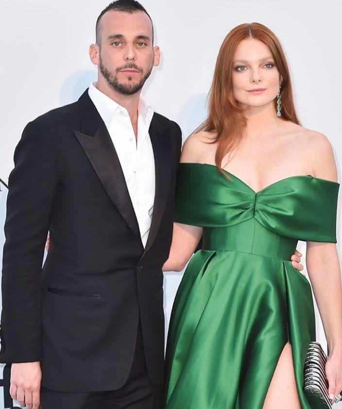 49c2734a77 Eniko Mihalik and Gabriela Dias, Wearing Daalarna at the Cannes Film  Festival