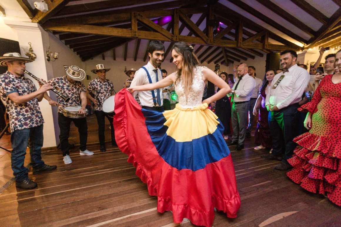 Joyful and Colourful Wedding in Colombia - Natalia + David