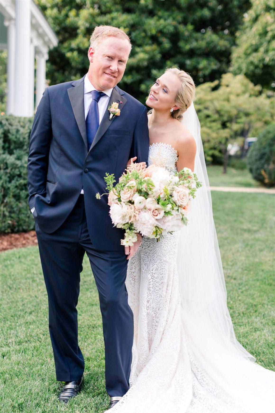 Midsummer Night's Dream Wedding in Huntsville, Alabama, USA